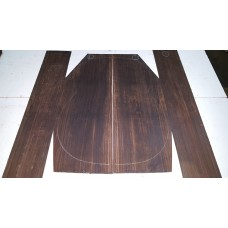 Macassar Ebony Back and Side Set 1