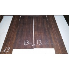 Macassar Ebony Back and Side Set 13