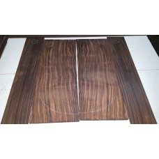Macassar Ebony Back and Side Set 17