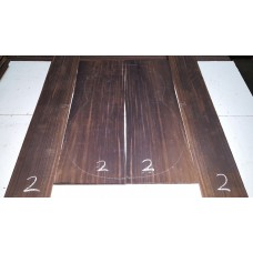 Macassar Ebony Back and Side Set 2