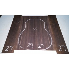 Macassar Ebony Back and Side Set 27