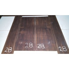 Macassar Ebony Back and Side Set 28