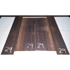 Macassar Ebony Back and Side Set 29