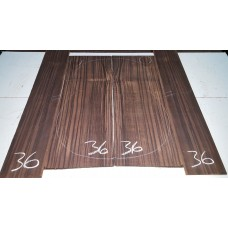 Macassar Ebony Back and Side Set 36