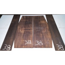 Macassar Ebony Back and Side Set 38
