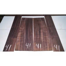 Macassar Ebony Back and Side Set 41