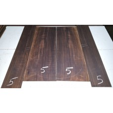Macassar Ebony Back and Side Set 5